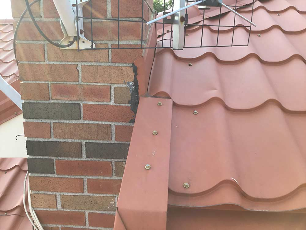 bad metal roof installation