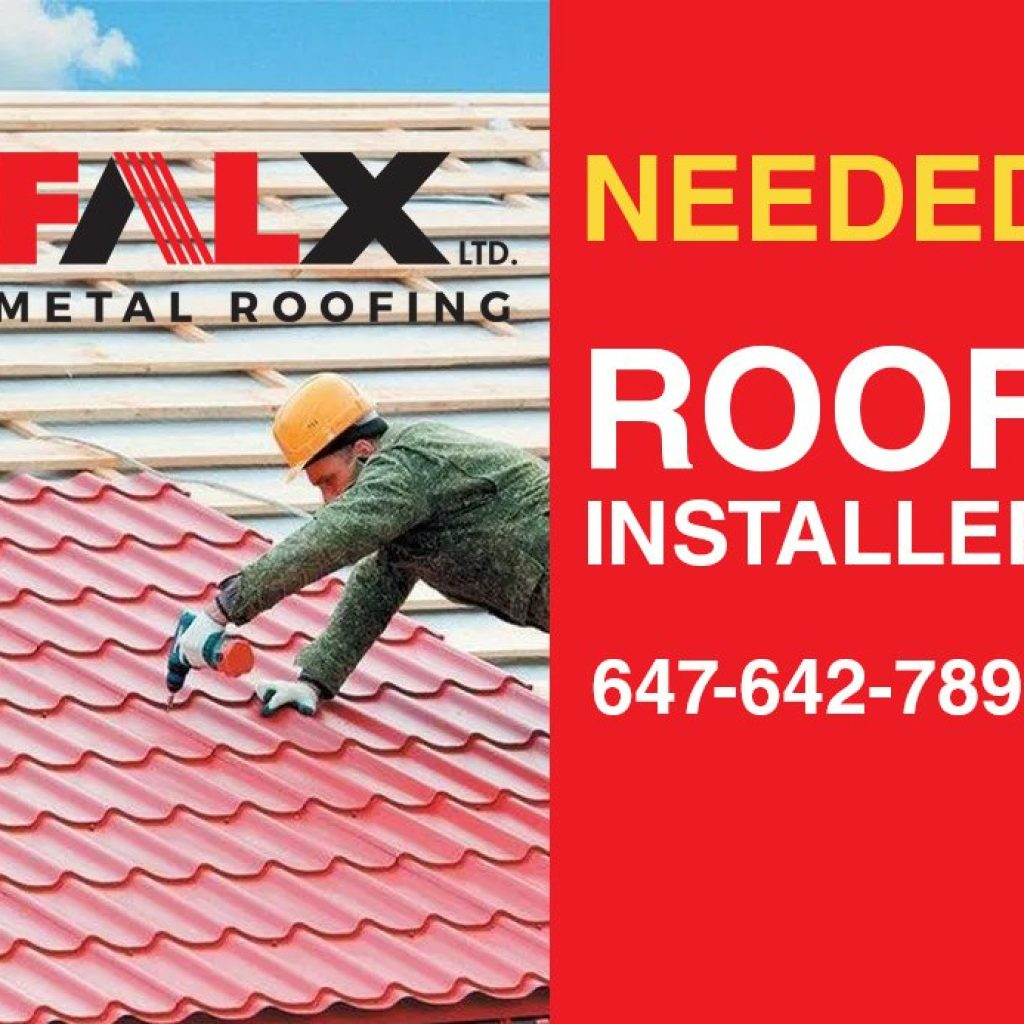 roofer job Toronto